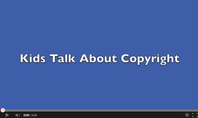 Kids Talk About Copyright