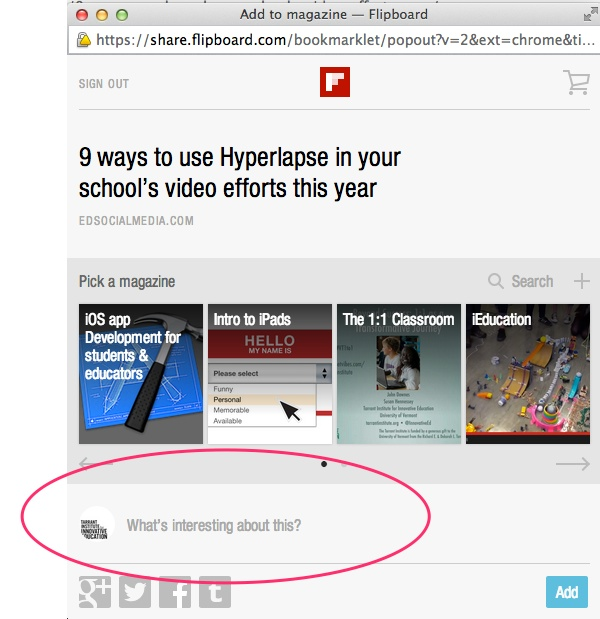 4 ways to use Flipboard in your flipped classroom - Innovation: Education