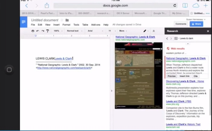 how to use footnotes in google docs
