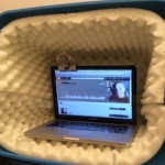 build your own podcasting booth