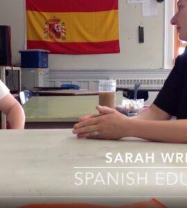 self-paced spanish classroom