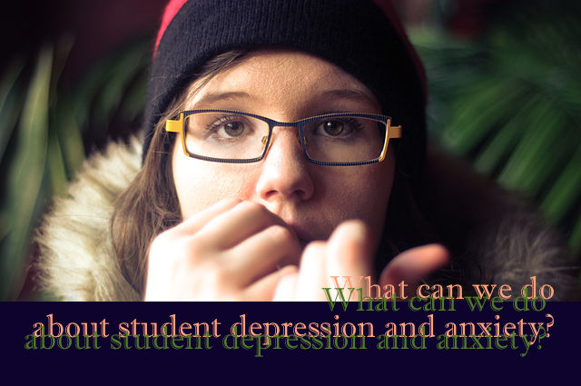 student depression and anxiety  symptoms of dysfunction in