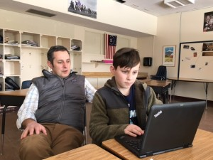 the parent's role in a student-led conference
