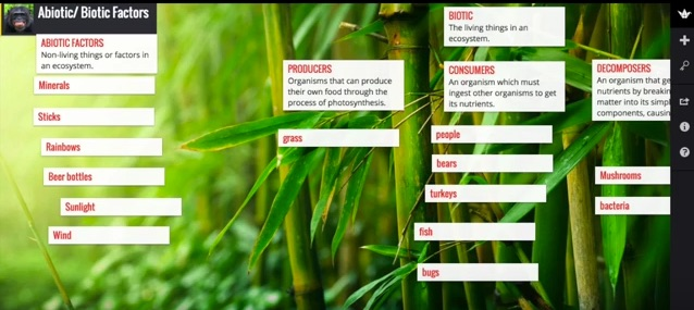 student research with Padlet
