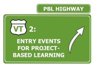 entry events for project-based learning