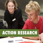 an action research module examining scheduling and student choice