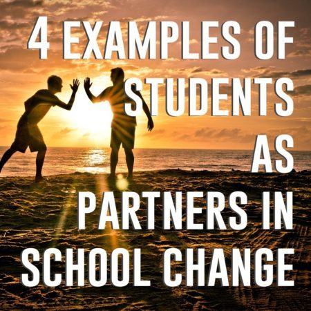 students as partners in school change