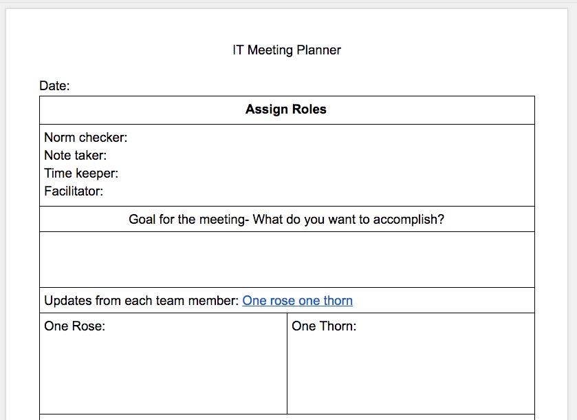 teaming planner