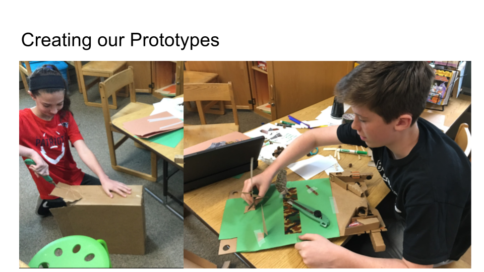 makerspace learning at Proctor Elementary
