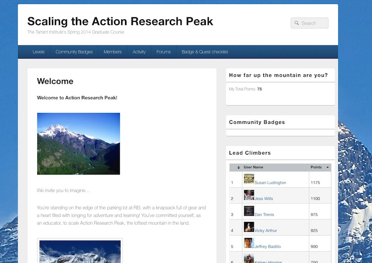 TIIE's Action Research micro-credential