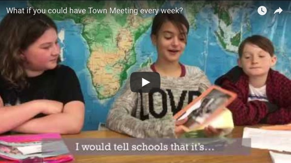 Town Meeting Day in VT classrooms