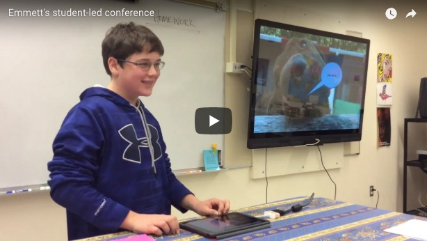 student-led conferences in Vermont