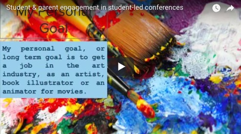 action research on student-led conferences