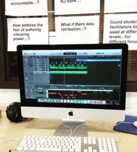 Randolph Union High School digital audio producers
