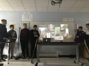 Burke student presentation rural education