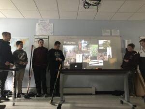 Burke student presentation rural education