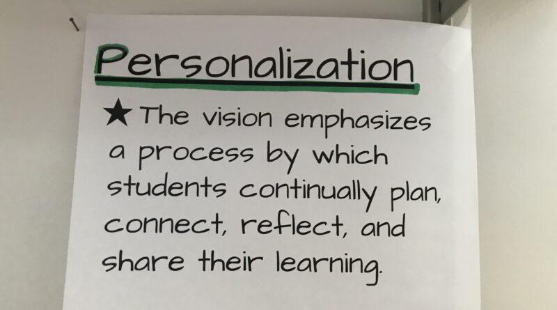 Personalization Goal 4
