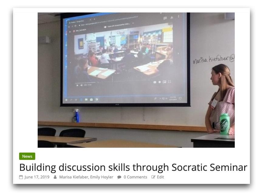 Elijah Hawkes Socratic Seminar