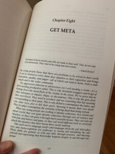 First page of Chapter 8: Get Meta, Elijah Hawkes