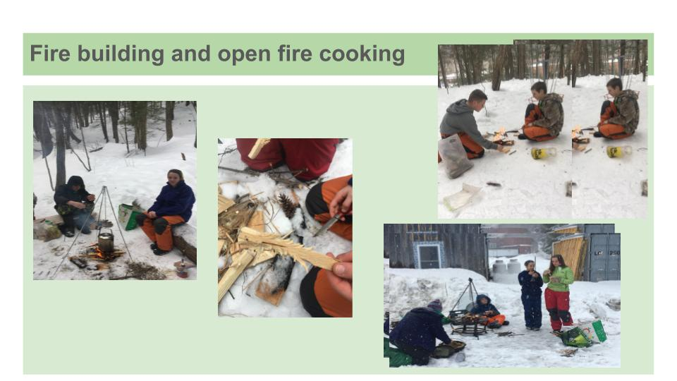 outdoor education vermont