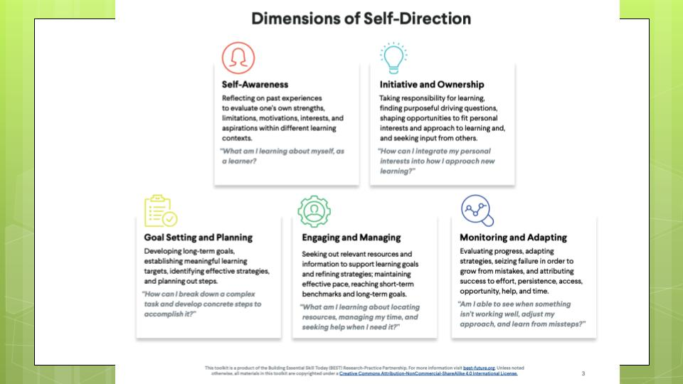 scaffolding self-directed learning