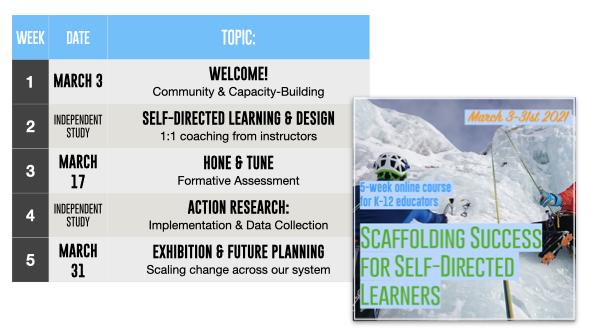 scaffolding self-directed learners