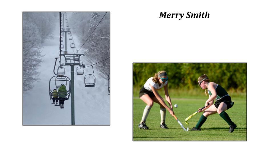 Merry Smith, Harwood Union High School