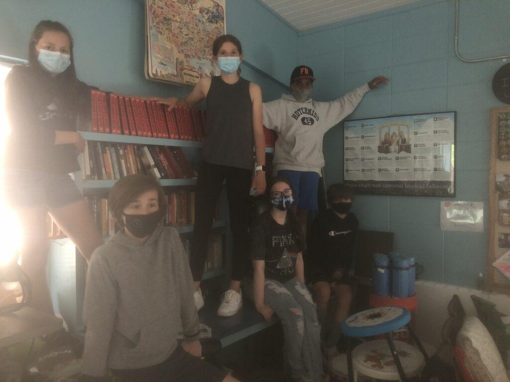 classroom library audit Flood Brook Middle School