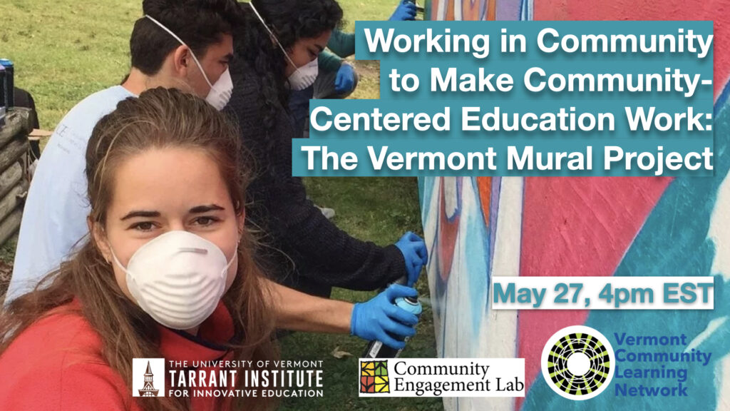 Hazen Working in Community to Make Community-Centered Education Work: The VT Mural Project